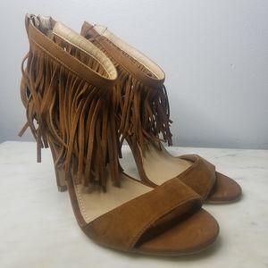 Torrid fringe heels